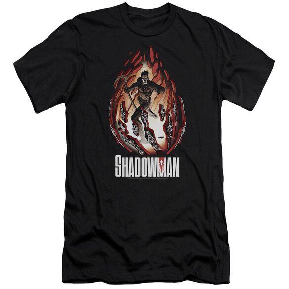Shadowman Burst Premuim Canvas Adult Slim Fit
