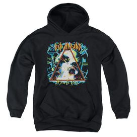 Def Leppard Hysteria Youth Pull Over Hoodie