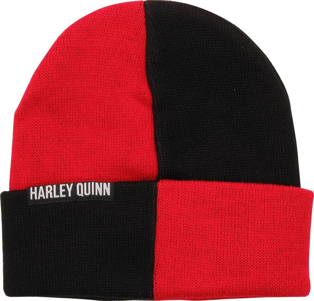 8333b80df46 Images. Harley Quinn Logo Beanie