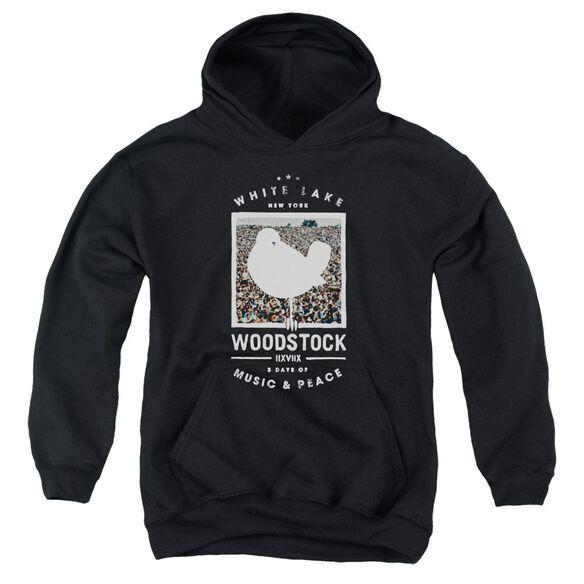 Woodstock Birds Eye View Youth Pull Over Hoodie