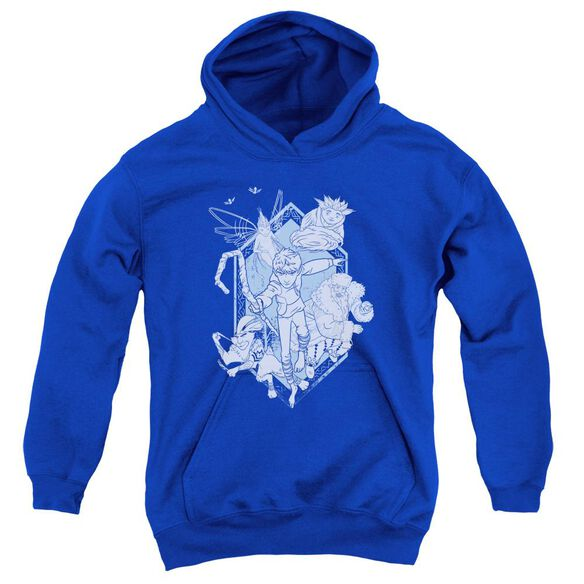 Rise Of The Guardians Coming For You Youth Pull Over Hoodie