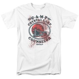 Friday The 13 Th Camp Counselor Victim Short Sleeve Adult T-Shirt