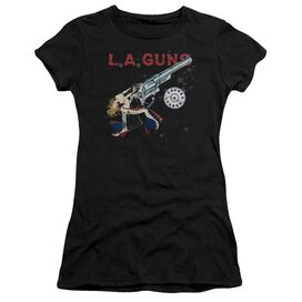 La Guns Cocked And Loaded Premium Bella Junior Sheer Jersey