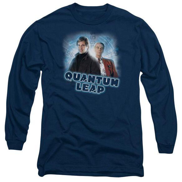 Quantum Leap Sam And Al Long Sleeve Adult T-Shirt