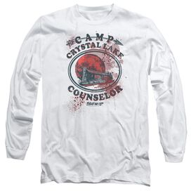 Friday The 13 Th Camp Counselor Victim Long Sleeve Adult T-Shirt
