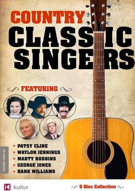 Country Classic Singers: Patsy Cline/Waylon Jennings/Marty Robbins/George Jones/Hank Williams
