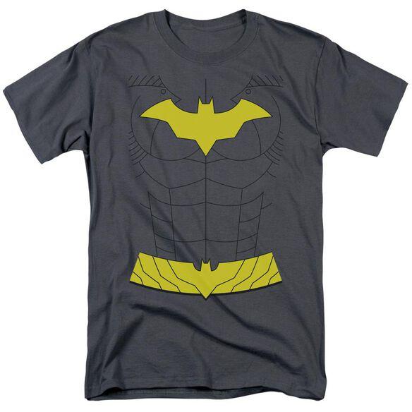 BATMAN NEW BATGIRL UNIFORM - S/S ADULT 18/1 - CHARCOAL T-Shirt
