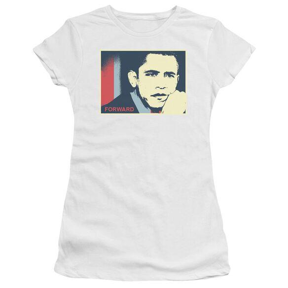 Forward Again Short Sleeve Junior Sheer T-Shirt