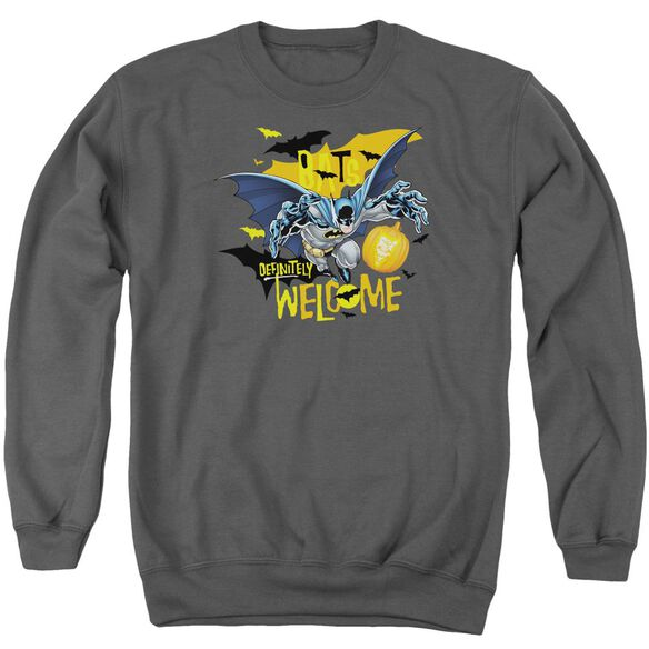 Batman Bats Welcome Adult Crewneck Sweatshirt