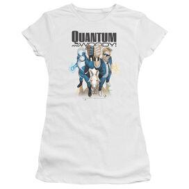 Quantum And Woody Quantum And Woody Short Sleeve Junior Sheer T-Shirt