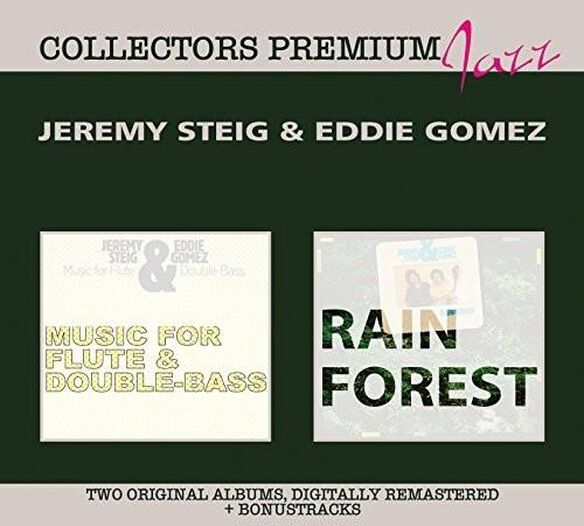 Jeremy Steig / Eddie Gomez - Rain Forest & Music for Flute and Double