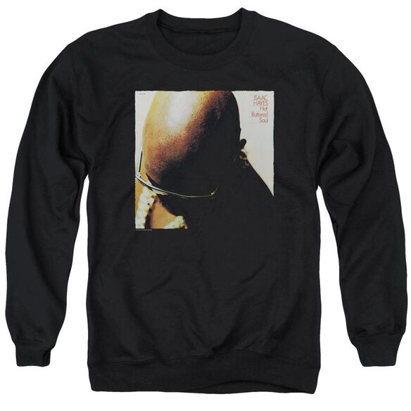 Isaac Hayes Hot Buttered Soul Adult Crewneck Sweatshirt