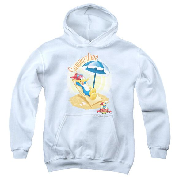 Woody Woodpecker Summertime Youth Pull Over Hoodie