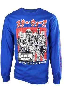 Star Wars Empire Strikes Back Abunai Kanji Long Sleeve T-Shirt