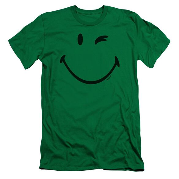 Smiley World Big Wink Short Sleeve Adult Kelly T-Shirt