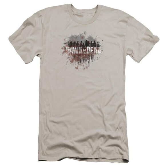 Dawn Of The Dead Creeping Shadows Premuim Canvas Adult Slim Fit