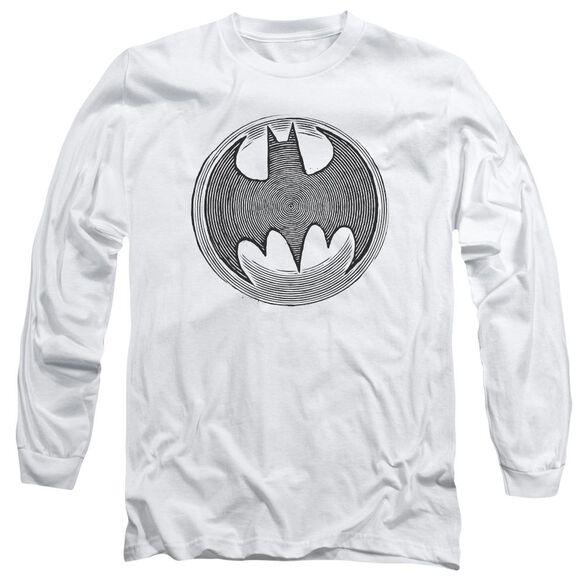 Batman Knight Knockout Long Sleeve Adult T-Shirt
