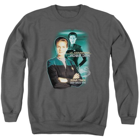 Star Trek Jadzia Dax Adult Crewneck Sweatshirt