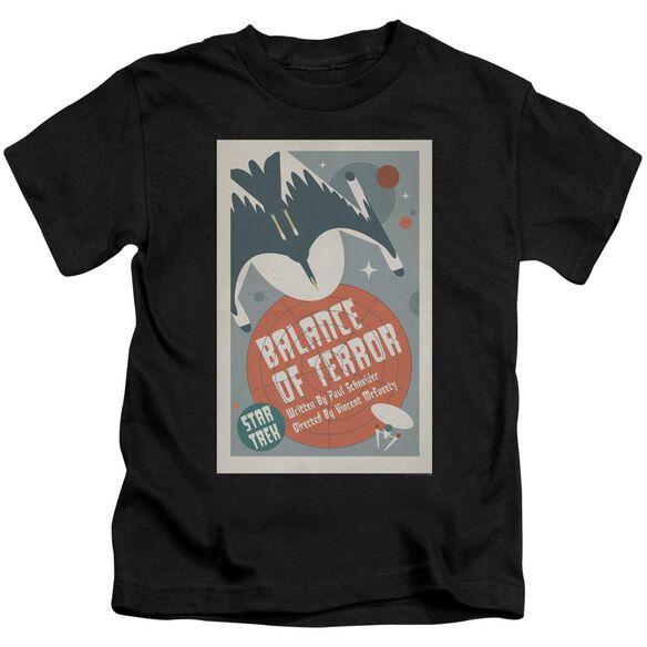 Star Trek Tos Episode 14 Short Sleeve Juvenile Black T-Shirt