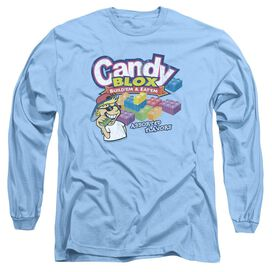 Dubble Bubble Candy Blox Long Sleeve Adult Carolina T-Shirt