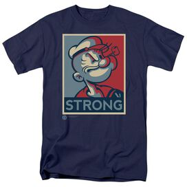 POPEYE STRONG-S/S ADULT 18/1 - NAVY T-Shirt