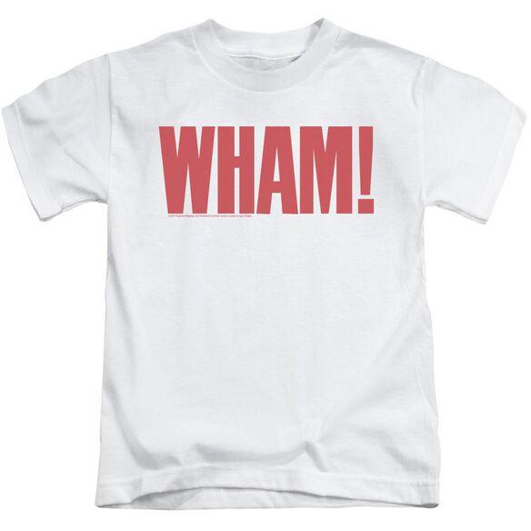 Wham Logo Short Sleeve Juvenile T-Shirt