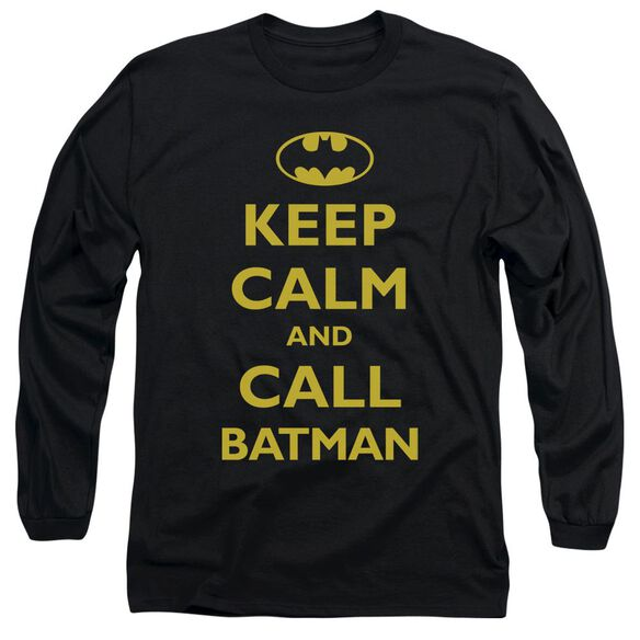 Batman Call Batman Long Sleeve Adult T-Shirt