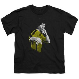 Bruce Lee Suit Of Death Short Sleeve Youth T-Shirt