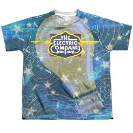 Electric Company Electrifying Short Sleeve Youth Poly Crew T-Shirt