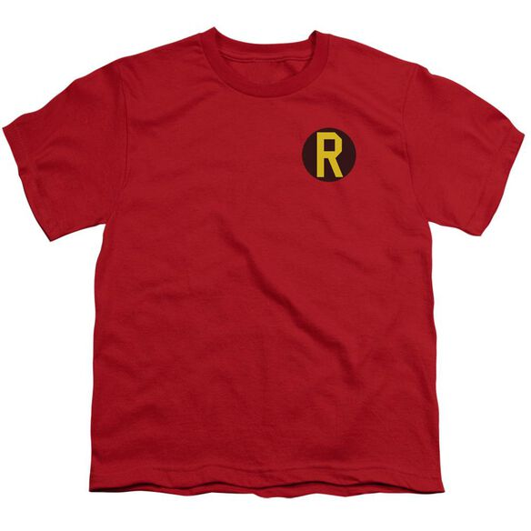Dc Robin Logo Short Sleeve Youth T-Shirt