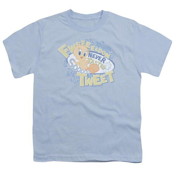 Looney Tunes Fweedom Short Sleeve Youth Light T-Shirt