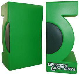Green Lantern Movie Symbol Bookends