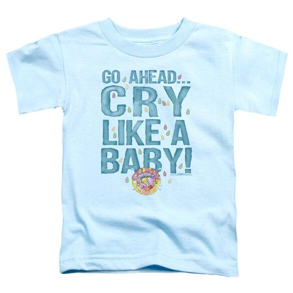 Dubble Bubble Cry Like A Baby Short Sleeve Toddler Tee Light Blue Sm T-Shirt