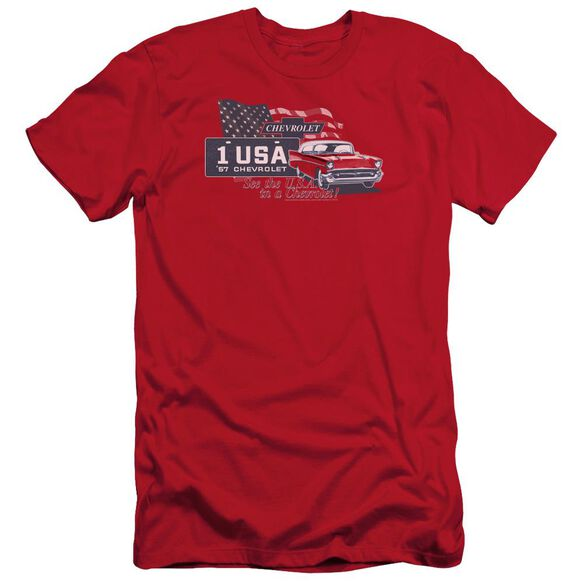 Chevrolet See The Usa Short Sleeve Adult T-Shirt