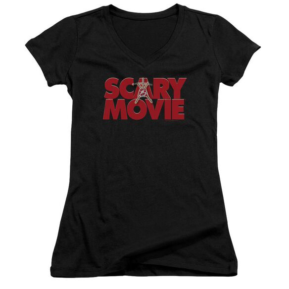 Scary Movie Logo Junior V Neck T-Shirt