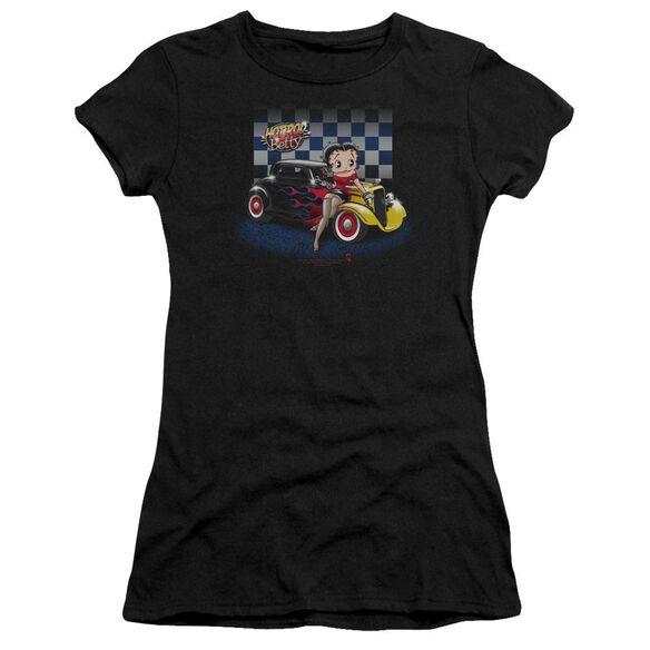 Betty Boop Hot Rod Boop Premium Bella Junior Sheer Jersey
