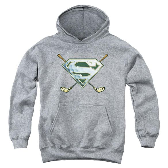 Superman Fore! Youth Pull Over Hoodie