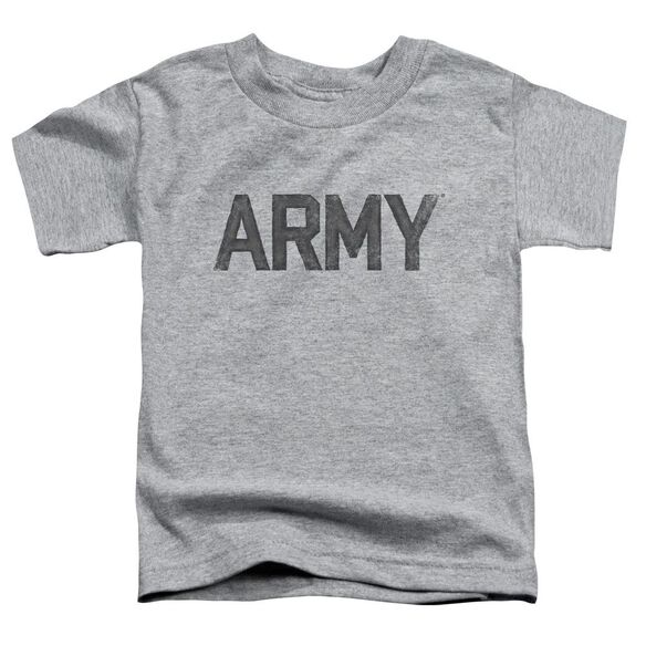 Army Star Short Sleeve Toddler Tee Athletic Heather T-Shirt