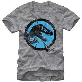 Jurassic World Cracked Logo T-Shirt