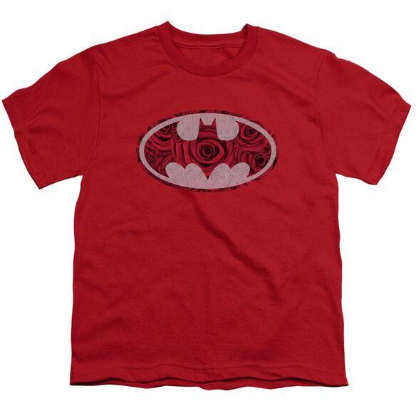 Batman Rosey Signal Short Sleeve Youth T-Shirt