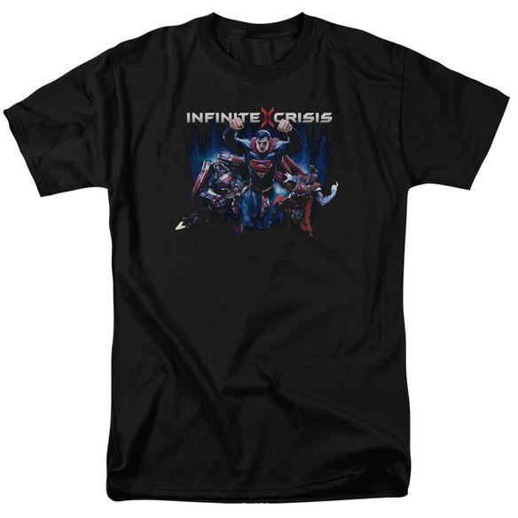 Infinite Crisis Ic Super Short Sleeve Adult T-Shirt
