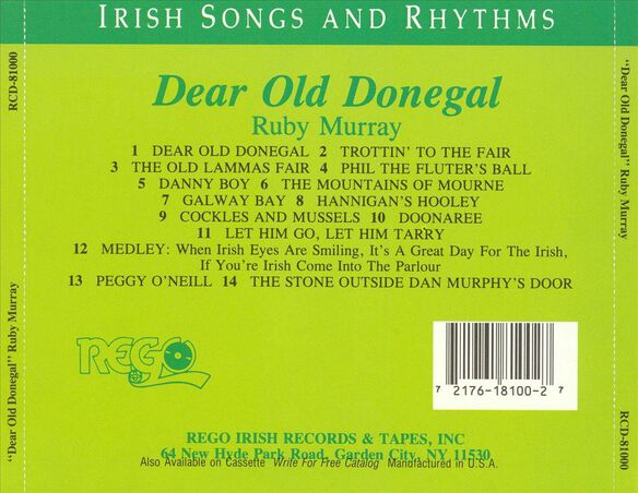 Dear Old Donegal 1190