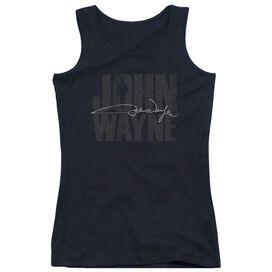 John Wayne Silhouette Sig Juniors Tank Top