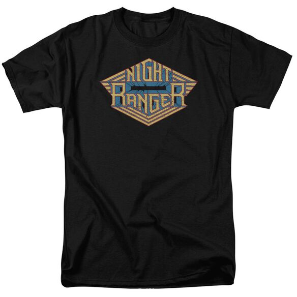 Night Ranger Logo Short Sleeve Adult T-Shirt
