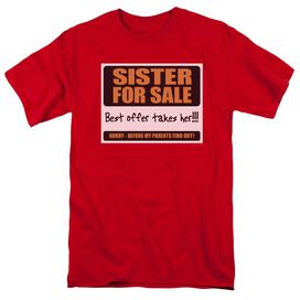 SISTER FOR SALE - ADULT 18/1 T-Shirt