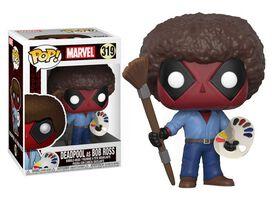 Funko Pop!: Deadpool [As Bob Ross]