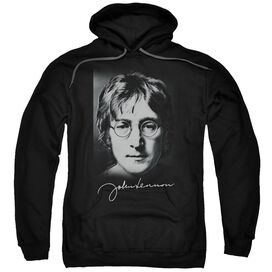John Lennon Sketch Adult Pull Over Hoodie