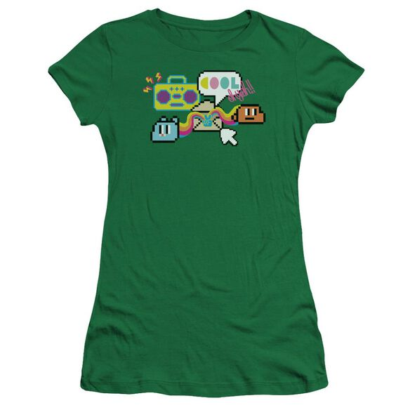 Amazing World Of Gumball Cool Oh Yeah Hbo Short Sleeve Junior Sheer Kelly T-Shirt