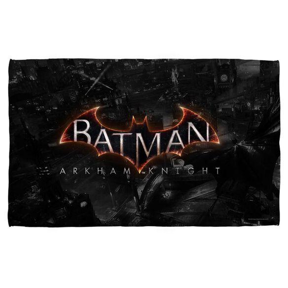Batman Arkham Knight Ak Logo Towel White