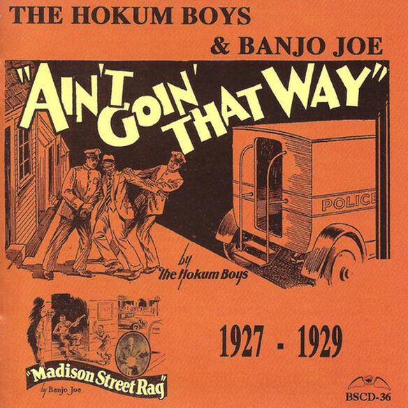 Hokum Boys & Banjo Joe - Ain't Goin' That Way